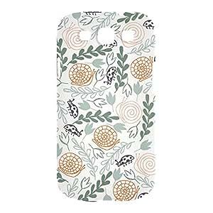 Green Wild Samsung S3 3D wrap around Case - Design 2