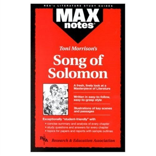 Song of Solomon (MAXNotes Literature Guides)