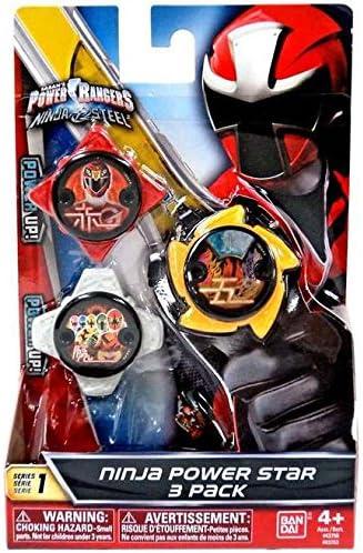 Amazon.com: Power Rangers Ninja Steel Star Pack: Toys & Games