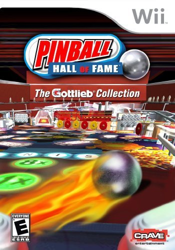Pinball Hall of Fame: The Gottlieb Collection - Nintendo Wii by Crave Entertainment (Wii Games Pinball)