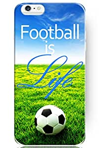 iPhone 6 Case, SPRAWL [Non-Slip] [Perfect-Fit] iPhone 6 (4.7) Case Slim **NEW** [Fit Series] [Thin Fit] Non Slip Surface with Excellent Grip Hard Case - Slim Case for iPhone 6 (4.7) (2014) -- Football is Life