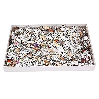 Charles Wysocki - Take Out Window - 1000 Large Piece Jigsaw Puzzle: Toys & Games