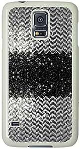 Chevron Universe Pattern Samsung Galaxy S5 Case with White Skin