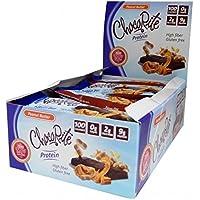 ChocoRite - Barras de dieta de alta proteína | Mantequilla de maní | Bajo en calorías, baja en grasa, sin azúcar (16 cajas)
