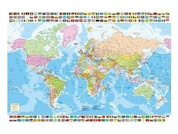Educa Puzzle Adulte Pays Carte Du Monde 1500 Pieces