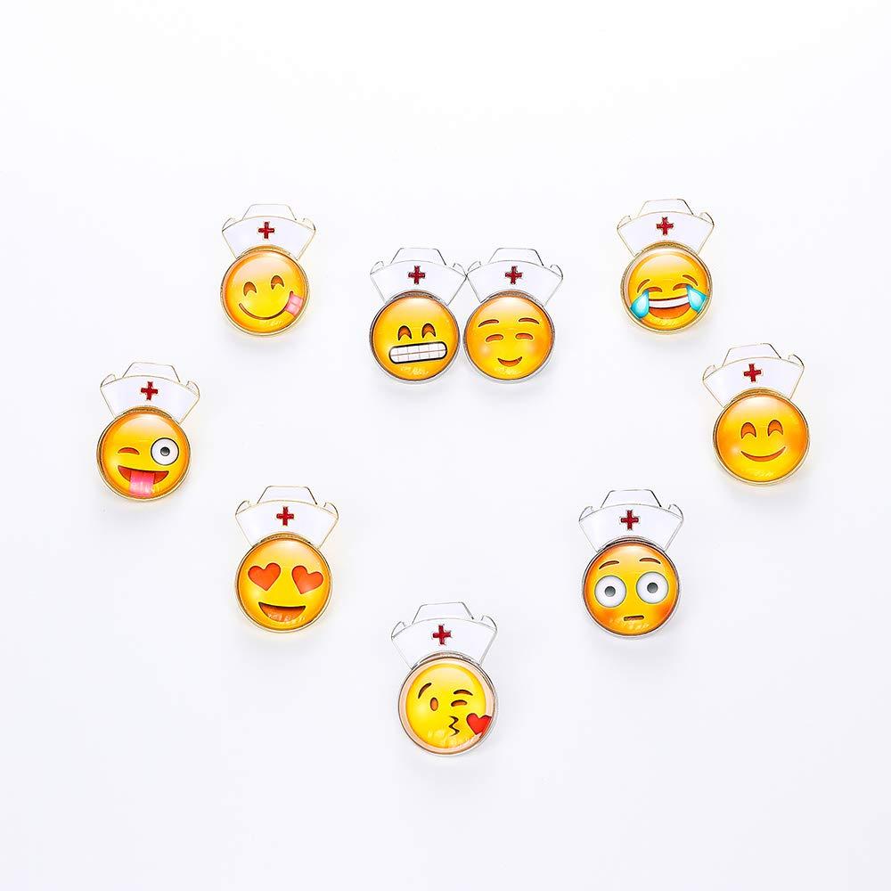 Amazon.com: TUSHUO Pequeño Emoji Estuche Emoticon con ...