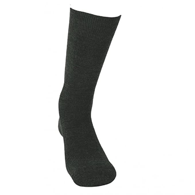 KLER 6762 - calcetin termico caballero (G, NEGRO)