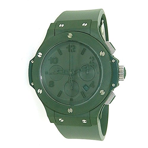 Hublot Big Bang All-Green Chronograph automatic-self-wind mens Watch 301.GI.5290.RG (Certified Pre-owned)