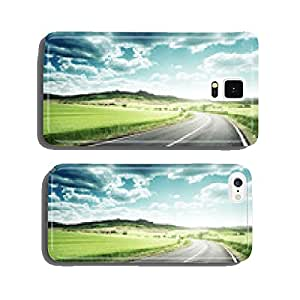 asphalt road in Tuscany Italy cell phone cover case iPhone6