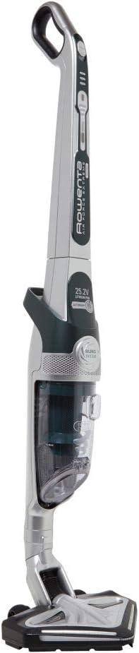 Rowenta Air Force Extreme Silence RH8972WO aspiradora de pie y escoba el/éctrica Sin bolsa Gris 0,5 L Aspiradora escoba Sin bolsa, Gris, 0,5 L, Secar, Espuma, Cicl/ónico