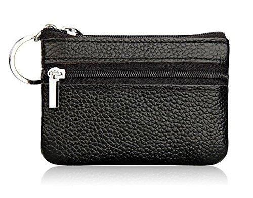 DukeTea Leather Zipper Change Keychain product image