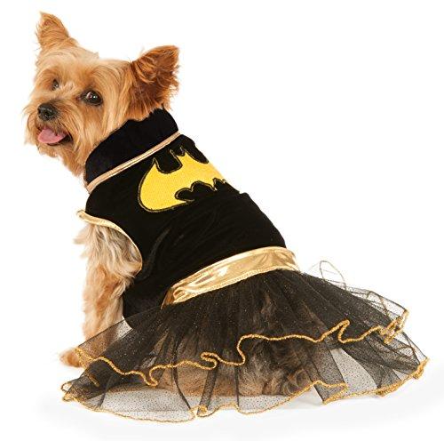 DC Comics Batgirl Pet Tutu Dress, Small (Fancy Dress Superheroes)