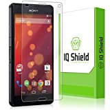 Sony Xperia Z3 Compact Screen Protector, IQ Shield LiQuidSkin Full Coverage Screen Protector for Sony Xperia Z3 Compact HD Clear Anti-Bubble Film - with