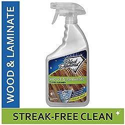 Black Diamond Wood & Laminate Floor Cleaner - Best Overall Spray