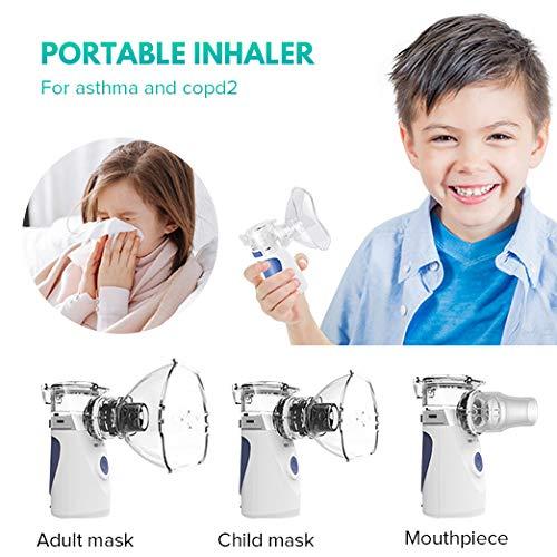 Portable Mini Vaporizers Machine Handheld Cool Mist Inhaler Kits for Adults Kids