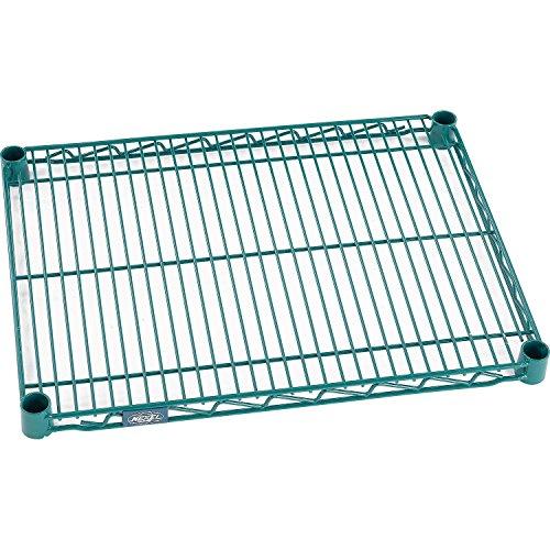 Nexel S1824G Green Epoxy Wire Shelf 24