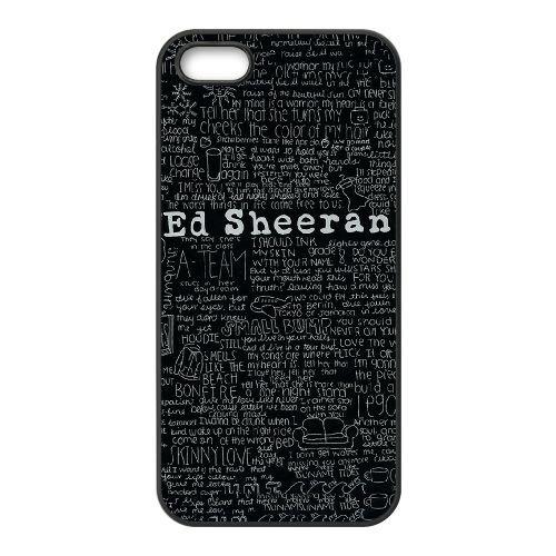 Ed Sheeran Cotations YM85MU5 coque iPhone 5 5s cas de téléphone portable coque J1DO7X8HG