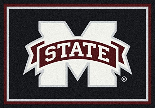 NCAA Team Spirit Door Mat - Mississippi State Bulldogs, 56'' x 94'' by Millilken