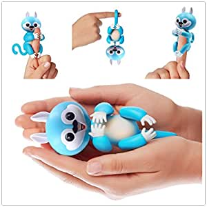 Finger squirrel,Creative fingertips Smart touch squirrel, finger interaction Baby, Christmas present