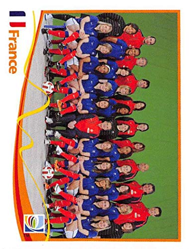 Official 2011 Fifa World Cup - 2011 Panini FIFA Women's World Cup Stickers Soccer #84 Team France Official 2 inch X 2 1/2 Inch Album Sticker