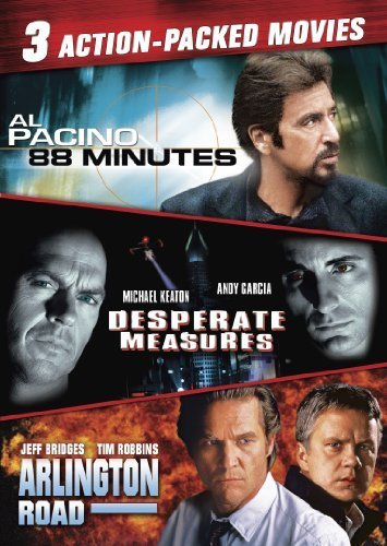 Action-Packed Triple Feature (88 Minutes, Desperate Measures, Arlington Road) by IMAGE ENTERTAINMENT (Image Measures)