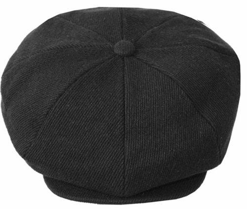 Sakkas Vintage Style Wool Blend Newsboy Snap Brim Cap c9d56e30603b