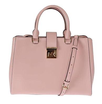 9f19f11d37aee1 Michael Kors Pink Mindy Satchel Crossbody Bag: Handbags: Amazon.com