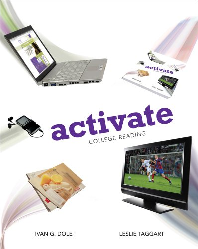 Bundle: Activate: College Reading + Reading CourseMate with eBook Printed Access Card