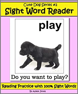Cute Dog Reader 2 Sight Word Reader Reading Practice With 100