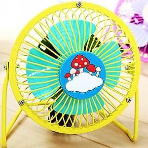 DK Ultra-silence Iron Art Mini Electric Fan