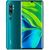 Xiaomi Mi Note 10 Smartphone, Dual Sim, 128GB, 6GB Ram - Aurora Green [Middle East Version]