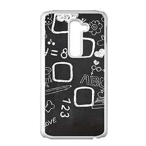 Creative blackboard Cell Phone Case For LG G2 by ruishernameMaris's Diary