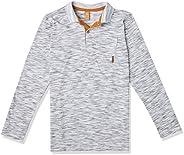 Camisa Polo Manga Longa Getblack, Up Baby, Meninos