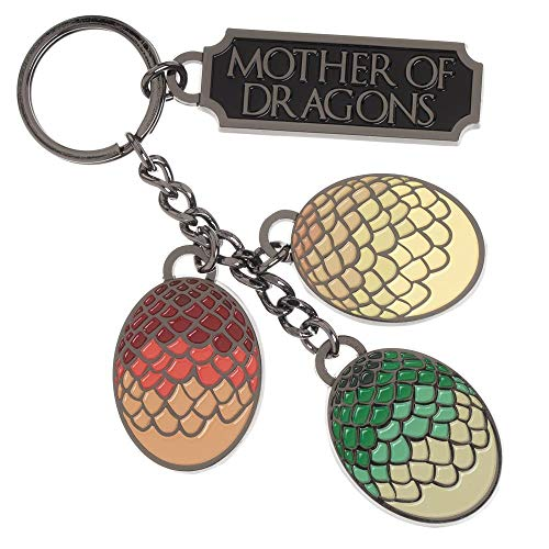 - Bioworld HBO Game of Thrones Mother of Dragons Keychain Standard