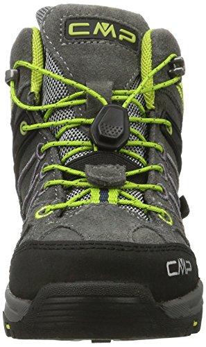 Mixte asphalt Chaussures teak Adulte Randonnée De Mid Wp Cmp Marron Hautes Rigel qftPw0