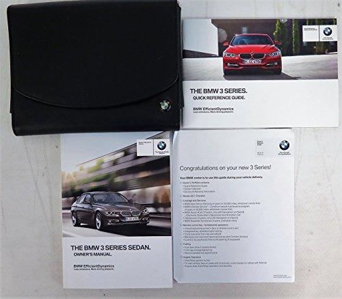 Sedan Models (2014 BMW 3 SERIES SEDAN OWNER'S MANUAL SET WITH NAVIGATION FOR ALL 320i 328i 335i 328i 328d and xDrive Models)