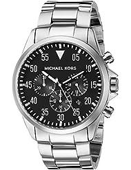 Michael Kors Mens Gage Silver-Tone Watch MK8413
