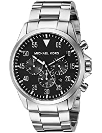 Michael Kors MK8413 Men's Gage Wrist Watch, Black Dial