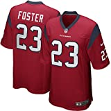 Houston Texans Arian Foster #23 NFL Youth Big Boys Game Jersey, Red (Large (14-16))