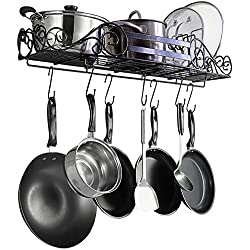 SparkWorks Standard Wall Mount Pot Rack
