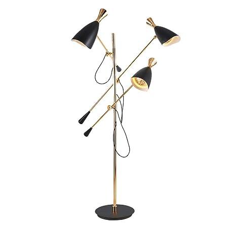 QTDH Nordic LED Lámpara De Pie Moderno del Diseñador Árbol ...