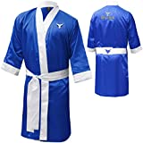 Mytra Fusion boxing robe training robe personalized Muay thai gown material arts training gown training gown kickboxing gown boxing full length gown boxing robe satin boxing robe boxing dressing gown