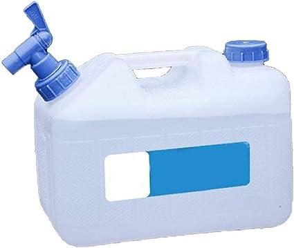 Kentop - Bidón de agua portátil con grifo/salida de agua para ...