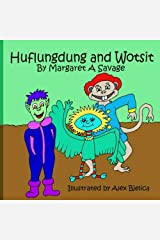 Huflungdung & Wotsit: Includes Colouring Book Paperback