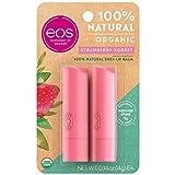 eos Natural & Organic Stick Lip Balm -  Strawberry