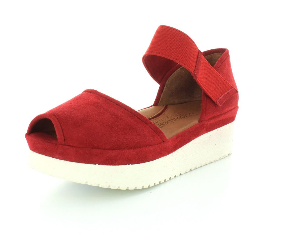 L`Amour Des Pieds Womens Amadour Sandal B01D7TK7OO 11 B(M) US|Red