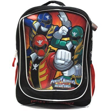 "Power Ranger 16"" 3D Backpack"