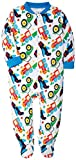 #10: SH Unisex Baby Rompers Lovely Toys Pattern Bodysuits Footed Baby Pajamas Of Leisure Wear Newborn Sleepers Onesies