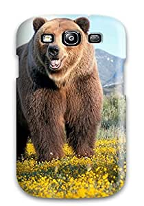 Marcella C. Rodriguez's Shop 1186752K87419168 Fashionable Style Case Cover Skin For Galaxy S3- Grizzly Bears