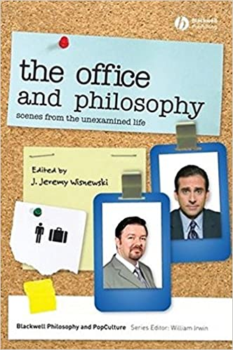 the office and philosophy scenes from the unexamined life the blackwell philosophy and pop culture series j jeremy wisnewski 9781405175555 amazoncom stills office